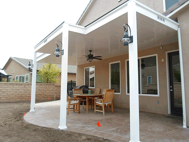 Vinyl patio covers solid los angeles ca buy