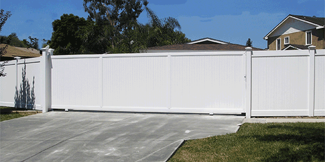 20 foot x 6 foot sliding gate