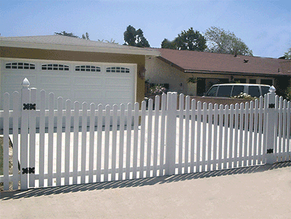 Vinyl Driveway Gates Rolling Gates California Los
