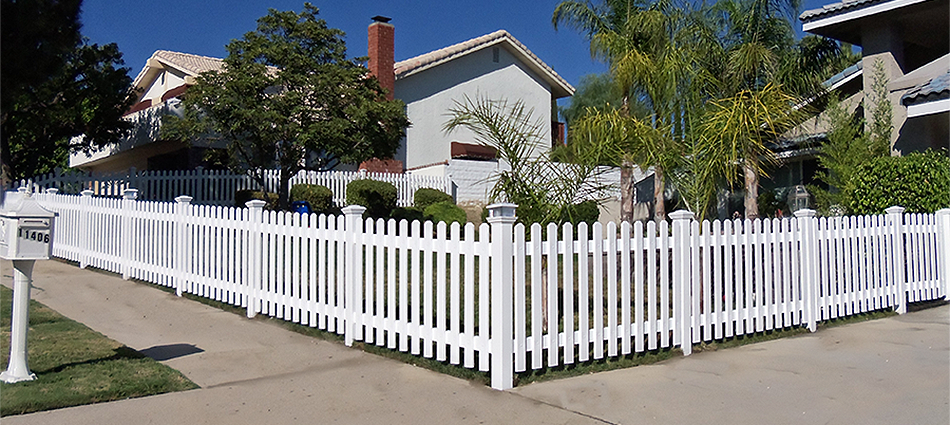 "Traditional Picket FenceStandard Sizes:  24""- 30""- 36""- 42""- 48""- 56""- 60"" high Custom sizes available.   Variety colors."