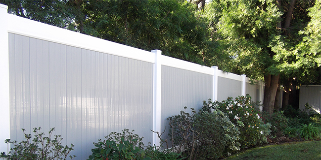 Vinyl Privacy Fencing Vinyl Solid Fencing Lifetime Warranty