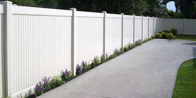 Vinyl Privacy Fencing Vinyl Solid Fencing Lifetime