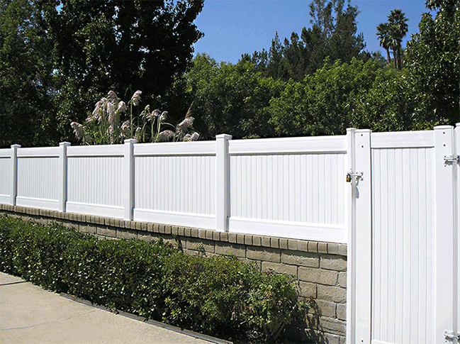 Block And Wood Fence Pictures To Pin On Pinterest Pinsdaddy