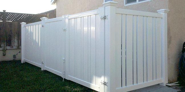 Semi Privacy Fencing Lifetime Warranty Santa Clarita