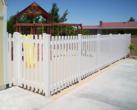 Vinyl Picket Fence Play Ground