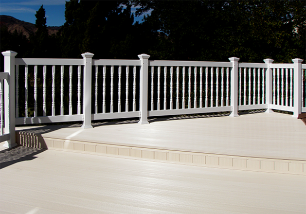 Deck with Step