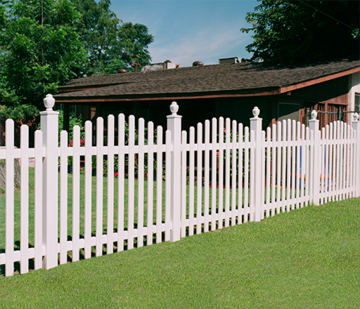 Picket Fence with Fenel