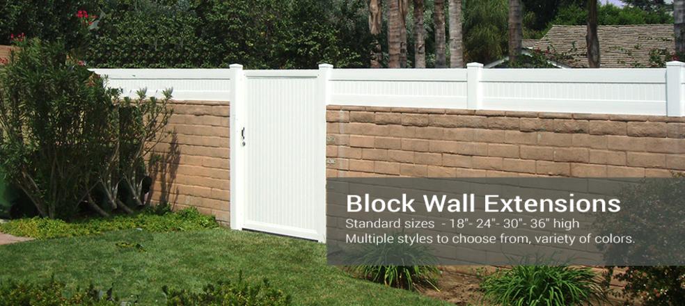 Blockwall Extension