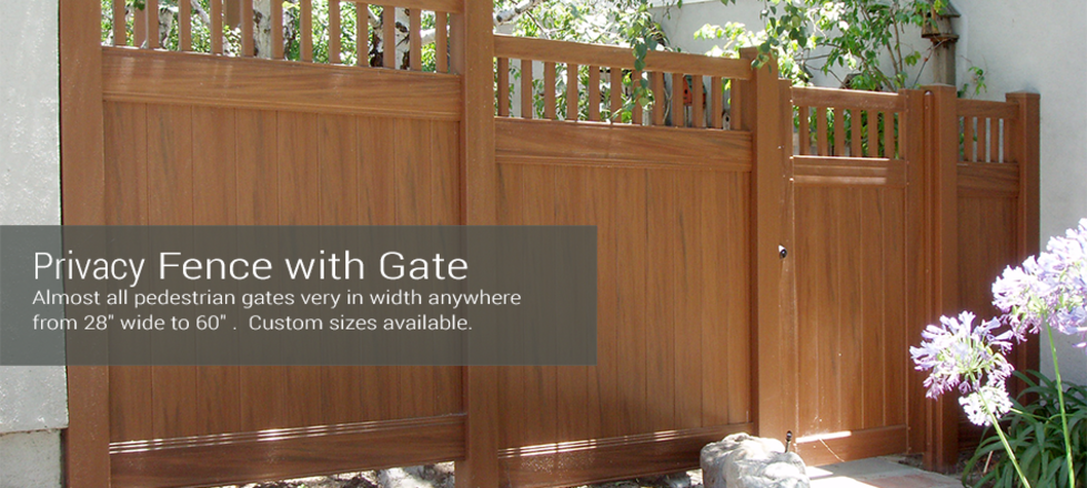Solid Privacy with Gate