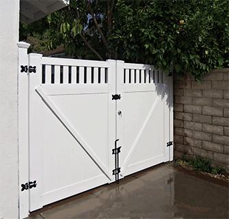 Custom Vinyl Driveway Gates Los Angeles Ca Buy Gates Simi