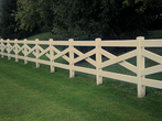 Criss Cross Fence