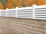 Louvard Block Wall Extension