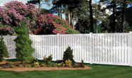 Vinyl Semi Privacy Fencing